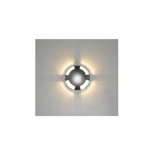 Spot LED Balise 1W (9W) IP67 12 VDC Blanc neutre 4000°K Rond Ø70 4 diffuseurs