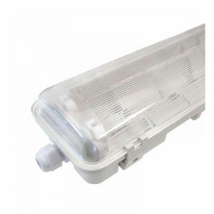 - Réglette/Boitier étanche pour Tube T8 LED - Double - 1585mm - IP65 - NOVA - DeliTech®