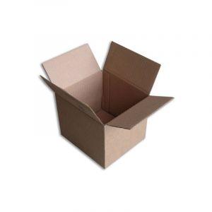 Lot de 50 Boîtes carton (N°5) format 180x160x150 mm - ENVELOPPEBULLE