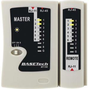 Testeur de câbles Basetech BT-100
