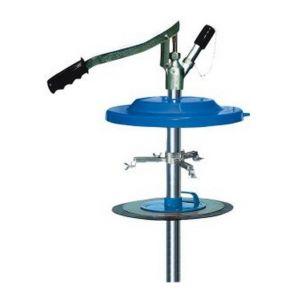 Pressol - Pompe manuelle de remplissage de graisse, convient aux seaux : 15 kg, Pour seau de Ø intérieur 240-270 mm, Long. du tuyau de pompe 510 mm
