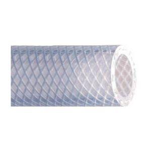 Tuyau plastique transparent tressé polyvalent O8x14, le metre - CAP AGAD