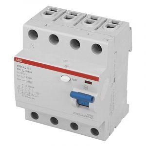 Interrupteur Différentiel triphasé 63A / 30mA / type AC ABB
