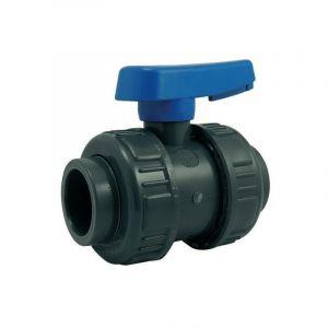 Vanne à boisseau PVC pression à coller FF Codital Ø16 de Codital - Vanne et robinet PVC