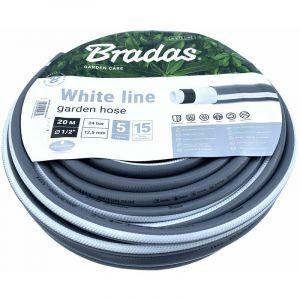 WHITE LINE Tuyau d'arrosage 5 couches Ø12,5 mm (1/2 ) 20 mètres