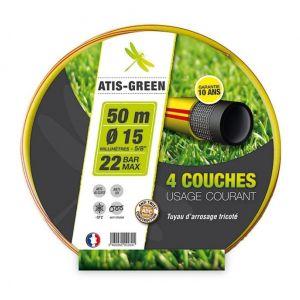 Tuyau atis green 4 couches 15x50m - FITT SOTEP