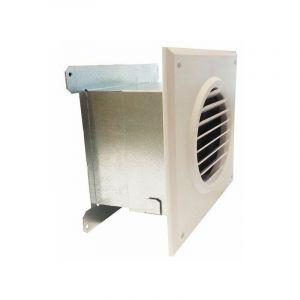 Grille motorisée 120 m3/h de récupération de chaleur cheminée - RECUPAIR