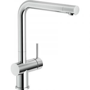 Mitigeur évier bec mobile et corps extractible Capitole - Anconetti - Chromé
