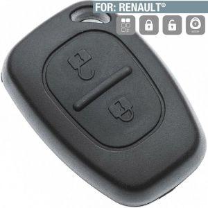 Boitier télécommande plip sans lame 2 Boutons Renault Master, Kangoo, Trafic - SILCA