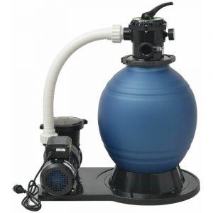Pompe de filtration à sable 1000 W 16800 l/h XL HDV32324 - Hommoo