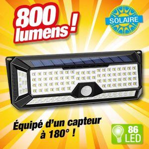 Projecteur solaire 86 LED - OUTIROR