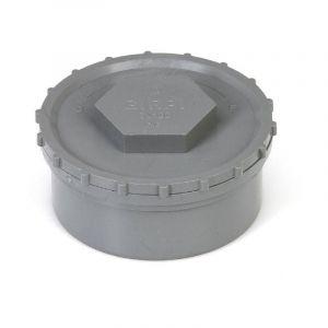 Tampon de visite PVC mâle (160) - Ø mm : 160 - GIRPI