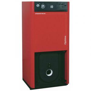 Chaudiere acier sol fioul ATLANTIC OPTIMA 4130B ECS 30 kW ballon inox de 100 litres Ref. 026470
