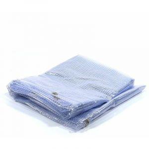 Bâche Pergola 400 g/m² - 3.8 x 4 m - bache transparente pour toile de pergola - bache imperméable - BÂCHES DIRECT