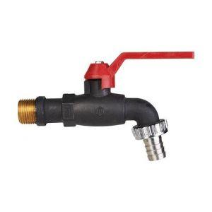 Robinet à boisseau sphérique - M 1/2' - M 3/4' - Puteus