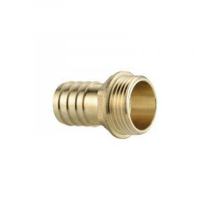 Raccord de tuyau Ebara 6000000063 laiton 33,25 mm (1) (filet ext.), Ø 25 mm (1)
