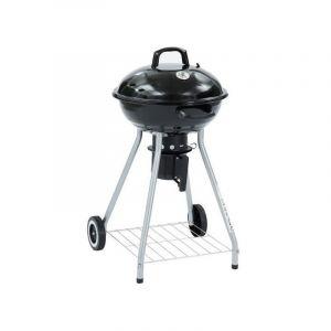 ROBERT Barbecue boule a charbon avec couvercle - Acier - Noir