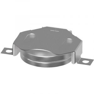 Support de pile bouton CR2020, CR2025, CR2032 Keystone SMT Insulated Retainer for 20mm Cell-Tin Nickel Plate P/N 3022