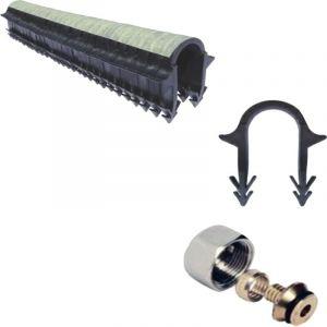 Kit plancher a eau 30 a 120 m² collecteur résine, tube multicouche | Kit 110 m² - PLANCHER CHAUFFANT SHOP BY IMPACT ENR