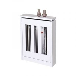 Cache-radiateur Cristian 3061 | Blanc - TOPKIT