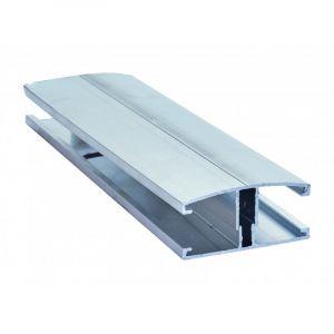 Profil et capot de jonction vissables couverture polycarbonate - Coloris - Aluminium, Epaisseur - 10/16/32 mm, Longueur - 4 m - MCCOVER