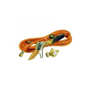 Pack chalumeau couvreur avec panne 45mm + manche + tuyau + détendeur - GUILBERT EXPRESS