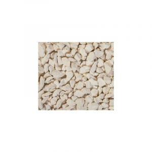 Gravillons calcaire Ocre/blanc 10/14 25 Kg