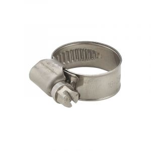 Collier inox largeur 12mm serrage diamètre 25-40 mm (x10) - AROZ