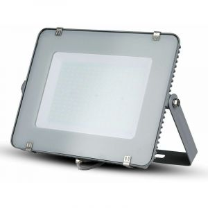 V-tac - SAMSUNG CHIP LED PROJECTOR 300W GREY COLOR IN COLOR ALUMINIUM COLOR FROM COLD LIGHT 6400K VT-300 489
