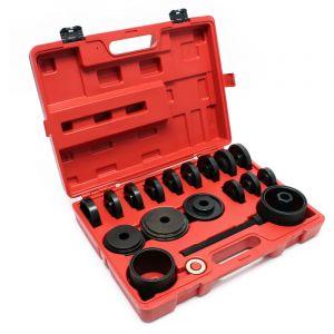 Outil de roulement 24 pièces 55-88 mm Extracteur de roulement pour automobile avec traction avant - WILTEC