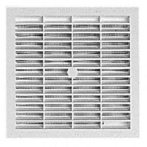 Grille de ventilation carrée à visser ou à coller type B164 - NICOLL