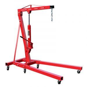 Grue d'atelier pliable Charge 1000kg Max. Bras de levage 960-1240 mm Chèvre de levage Atelier Garage - WILTEC
