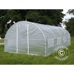 Serre Tunnel 3x6x2m, 18m², Transparent - DANCOVER
