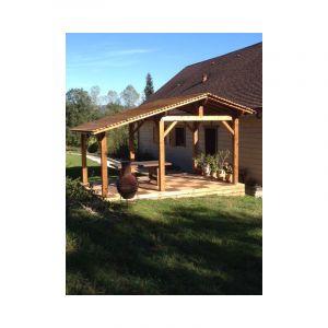 Abri de jardin en bois | 3.7 x 4.5 - 17.2 m² - 2 pans