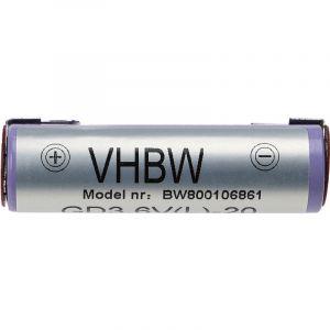 vhbw Li-Ion batterie 2000mAh (3.6V) pour ventouse à fenêtre d´intérieur Kärcher WV2 Plus, WV2 Premium, WV50 Plus, WV70 comme Accu60 Li.