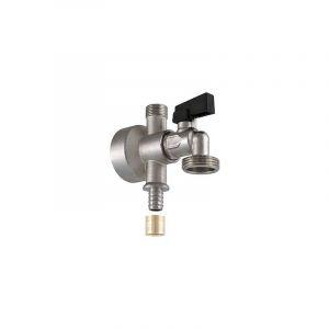 Noyon&thiebault - Applique jupe haute à glissement Ø16 - femelle 15x21 - mâle 12x17 + robinet 20x27. - NOYON & THIEBAULT