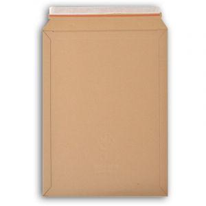 Lot de 50 enveloppes carton WellBox 7 format 330x470 mm - ENVELOPPEBULLE