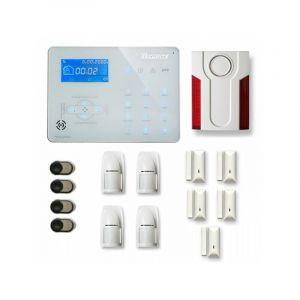 Alarme maison sans fil ICE-B24 Compatible Box internet - TIKE SéCURITé