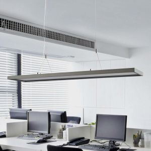 LED Suspension à intensité variable 'Divia' en métal pour bureau - LAMPENWELT