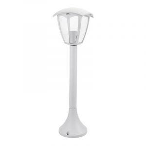 Laterne Blanche sur Pied Douille E27 IP44 Hauteur 60cm - OPTONICA