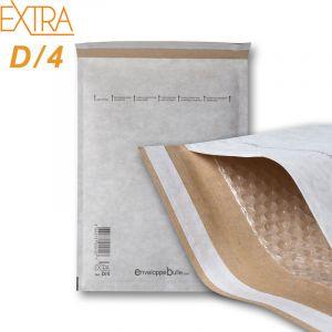 Lot de 50 Enveloppes à bulles EXTRA D/4 format 180x265 mm - ENVELOPPEBULLE