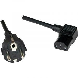 LogiLink® CP118, câble d'alimentation fiche mâle schuko sur prise C13, 2 m S727591