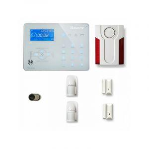 Alarme maison sans fil ICE-B29 Compatible Box internet - TIKE SéCURITé