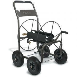 Dévidoir à roues- professionnel - pour tuyaux 110m 3/4 flexiblesPolet