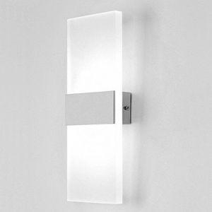 Moderne Applique Murale LED Lampe Blanche 6W Interieur Lumière Designe Créatif Décoratif Pour Chambre Couloir Salon Hôtel Restau Cuisine Boutique Salle ( Blanc Froid ) - STOEX