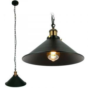 Suspension intérieur Vintage E27 cuivre industriel - ARUM LIGHTING
