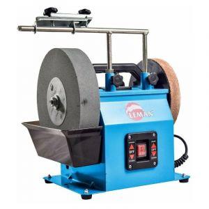 Leman - Affûteuse à eau meule Ø250 mm 180W + kit d'accessoires - AFF251