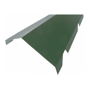 Faitière crantée double pour bac acier 1045 - L 2100mm - Coloris - Vert 6009, Hauteur - 260 mm, Largeur - 450 mm, Longueur - 2100mm - MCCOVER