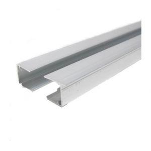 Profil d'obturation couverture polycarbonate L 98 cm ( x 2 pièces) - Coloris - Aluminium, Epaisseur - 16 mm, Longueur - 98 cm - MCCOVER