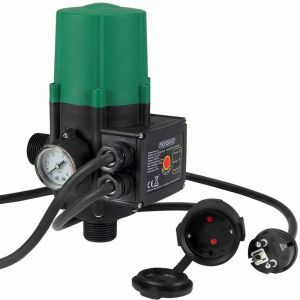 Contrôleur de pression avec/sans fil MONZANA - 10 bar Pressostat Jardin Arroser Câble inclus